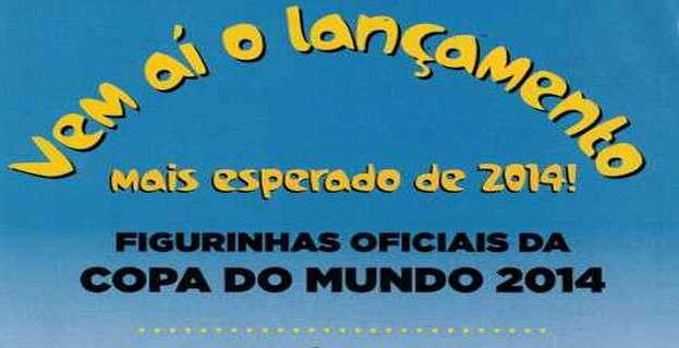 jxep Figurinhas da Copa do Mundo de 2014   Data de lançamento