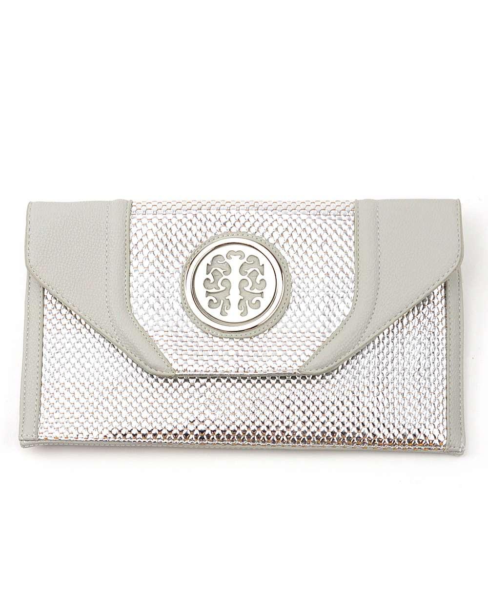 NYFashion101 (TM) Women's Dressy Metallic Envelope Clutch by Galian RILW33K at Sears.com