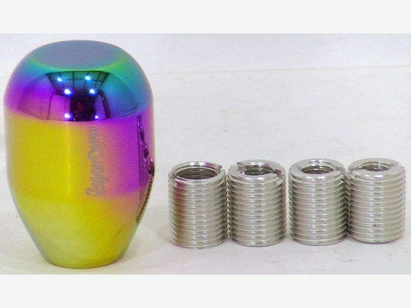 JapanDyno NEO-Q shift knob M12x1.25,M10x1.25/1.5,M8x1.25 R33