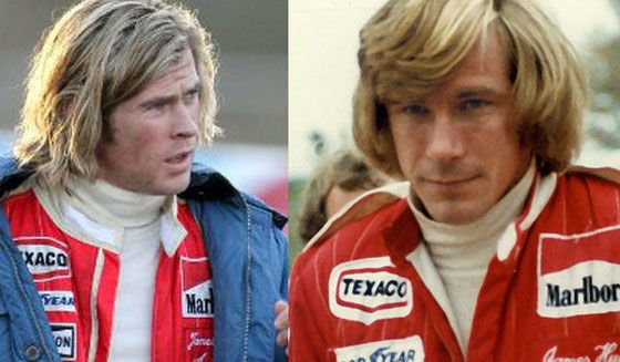 Chris Hemsworth - James Hunt - Rush Movie (2013)