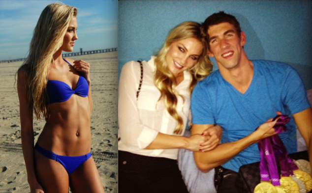 > Michael Phelp's girlfriend: worth 18 gold medals? - Photo posted in Eyecandy - Celebrities and random chicks | Sign in and leave a comment below!