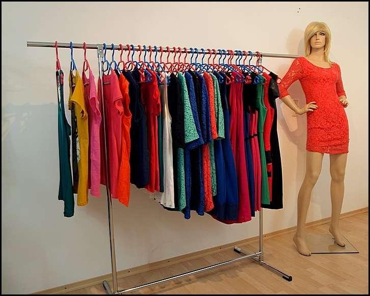 180x150x60 profi kleiderst nder bekleidungsst nder garderobe freistehend ebay. Black Bedroom Furniture Sets. Home Design Ideas