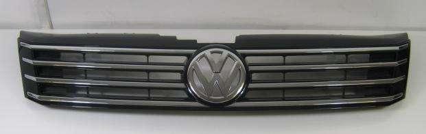 genuine vw passat b7 front black chrome radiator grille. Black Bedroom Furniture Sets. Home Design Ideas