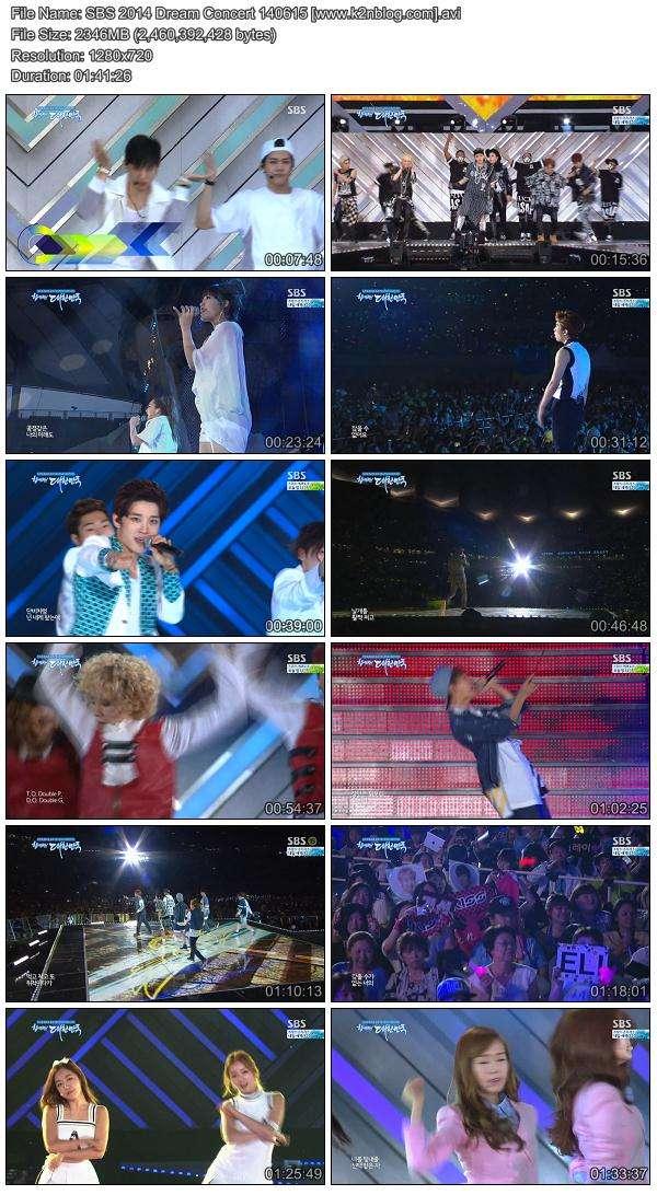 [Concert] SBS 2014 Dream Concert 140615 [HD 720p]
