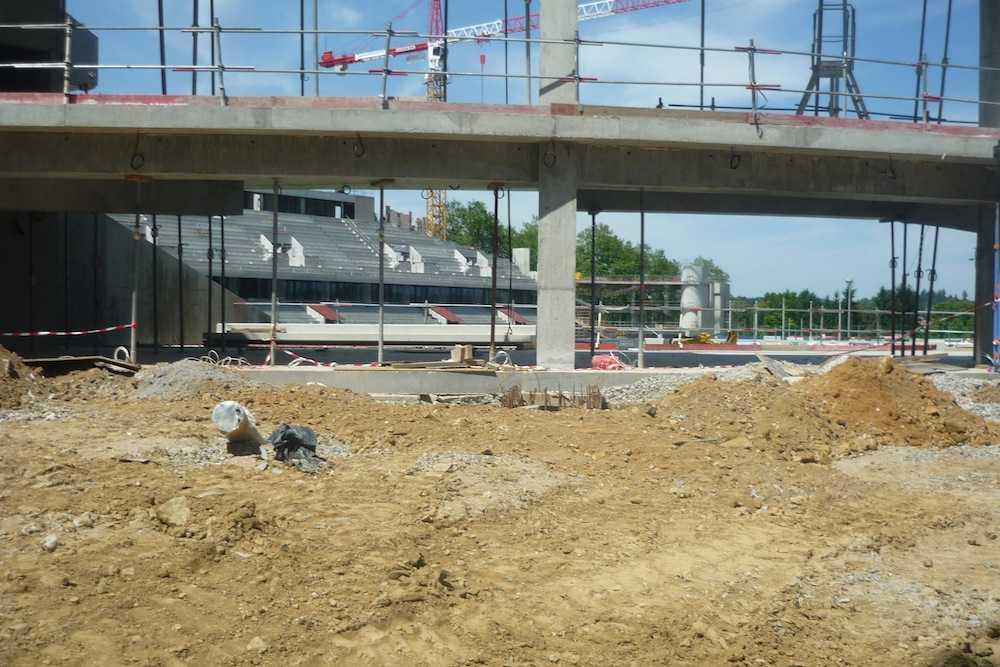 Limoges r novation du stade beaublanc 35 m en cours - Piscine limoges beaublanc ...