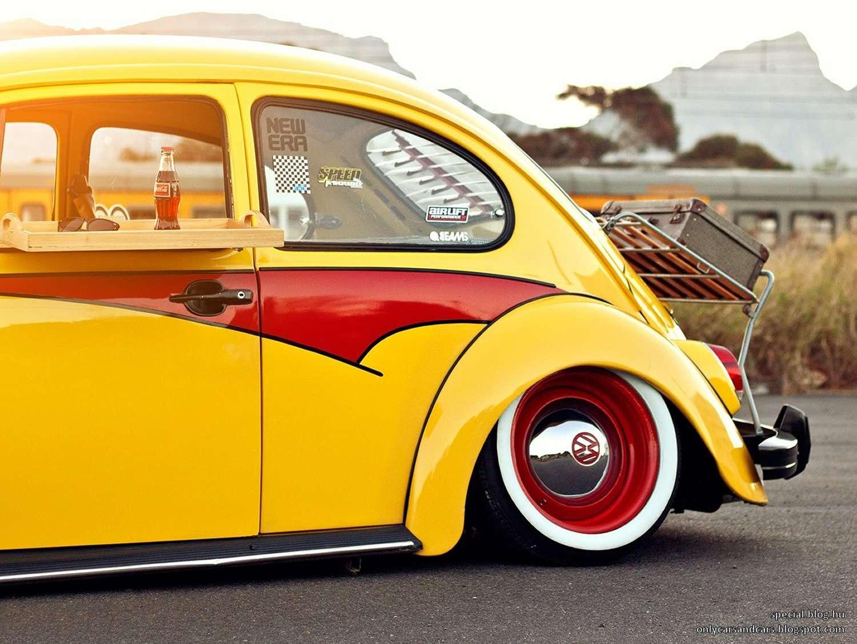 volkswagen beetle bug slammed garage car. Black Bedroom Furniture Sets. Home Design Ideas