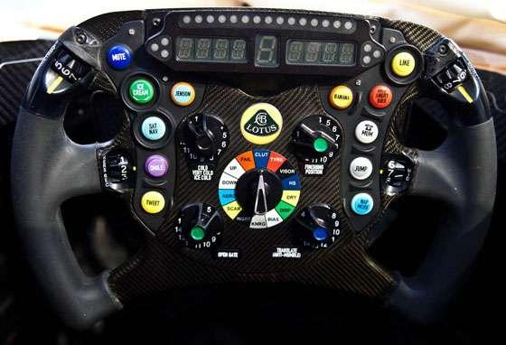 Lotus F1 Team E21 Steering Wheel Kimi Raikkonen Edition