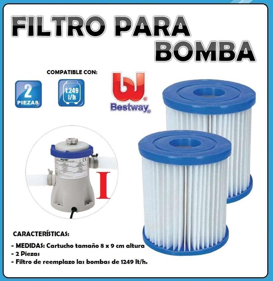 2 Filtros Tipo V Para Bomba Filtrante Para Piscinas
