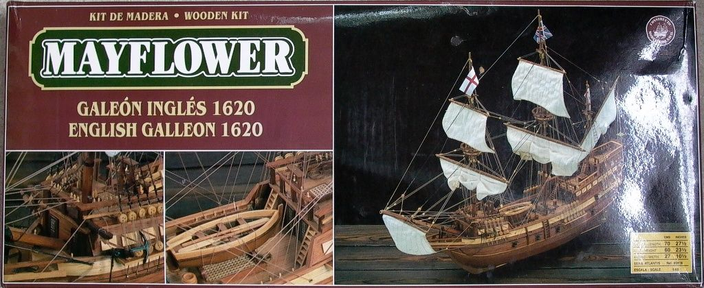 Kit Review Mayflower 1 65 By Constructo Wood Ship Model
