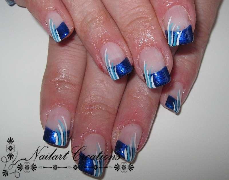Nailart Creations Gelnagels Blue Fantasy Nailart