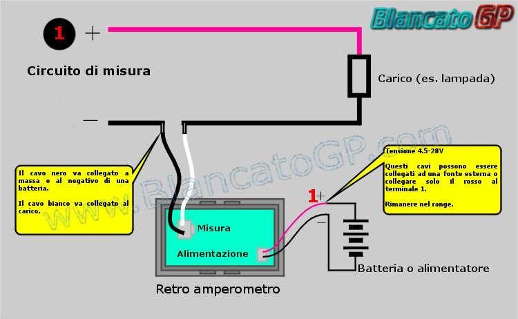 amperometro ammeter voltmeter wattmeter blancatogp