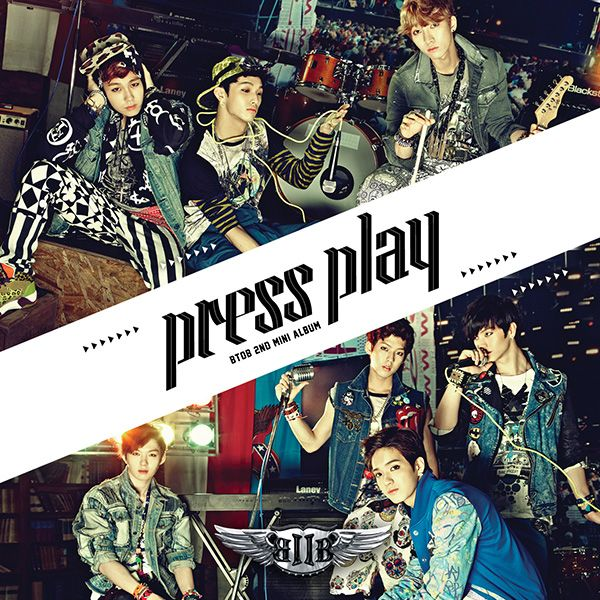 [Mini Album] BTOB   Press Play [2nd Mini Album]