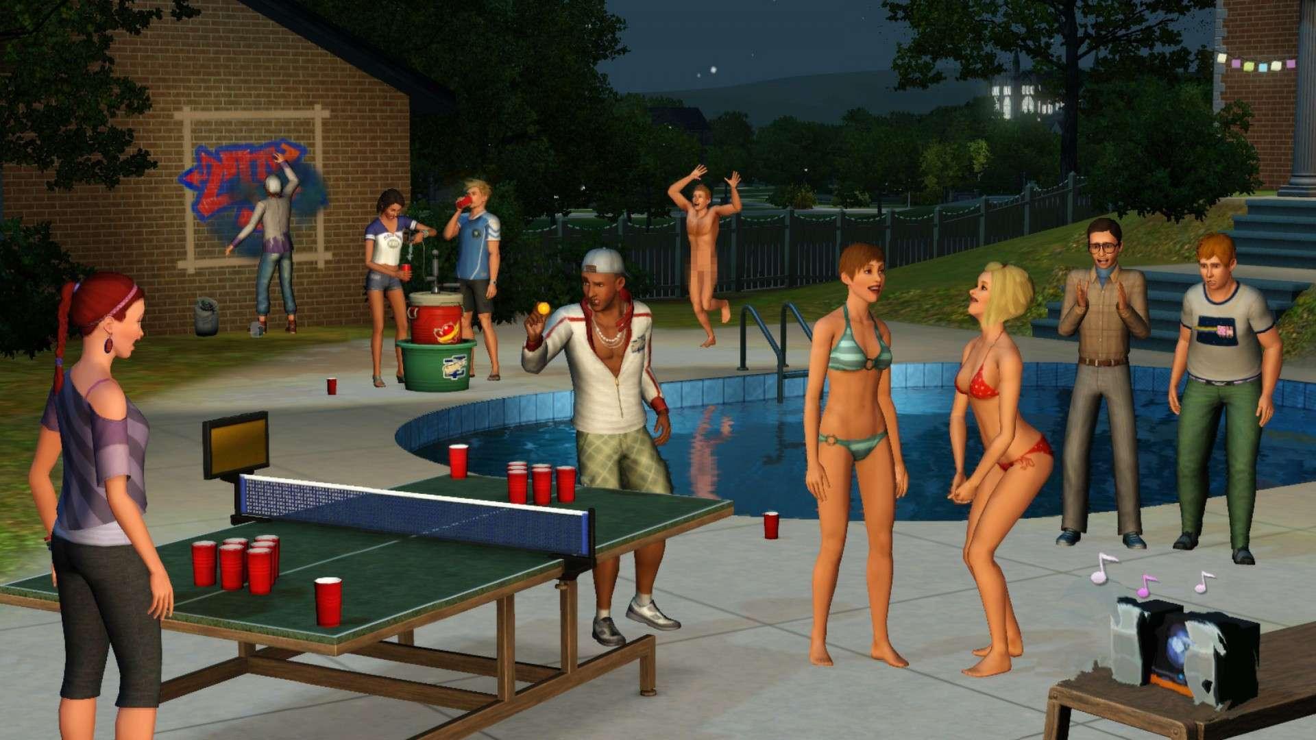 The Sims 3 University Life - FLT - Tek Link indir