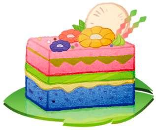 毽子果香蛋糕(14/4/2013)