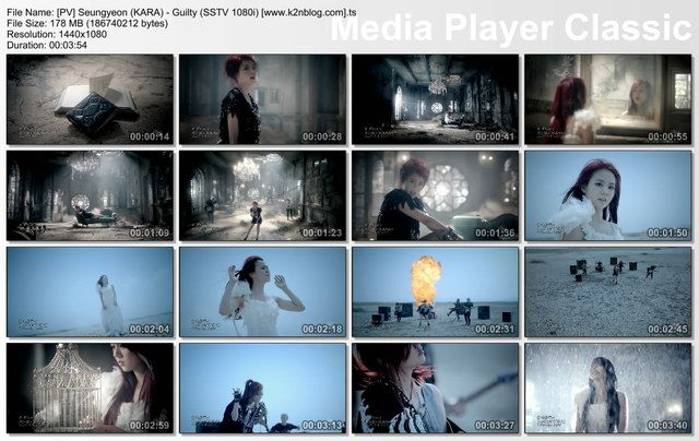 [PV] Seungyeon (KARA) - Guilty (SSTV HD 1080i)