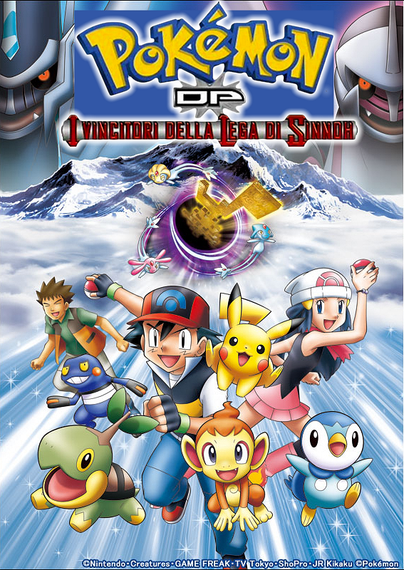 Pokémon Diamante e Perla - I Vincitori della Lega di Sinnoh- Serie 13 (2010) BDMUX 720P MPEG - ITA JAP ENG SUBS