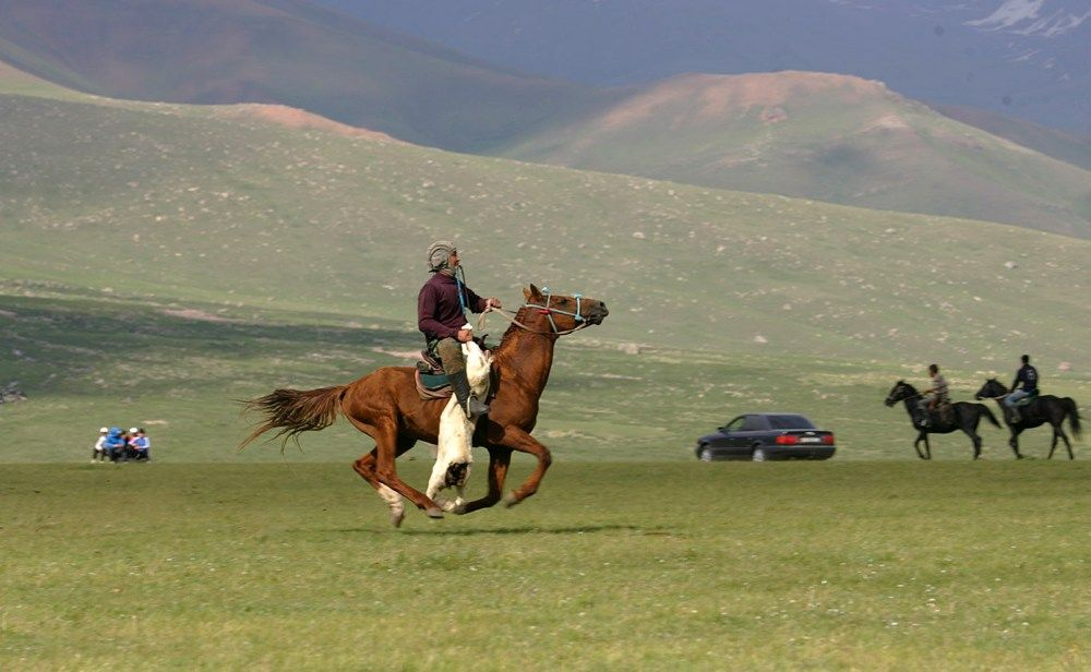 Ulak Tartysz kirgiska gra konna