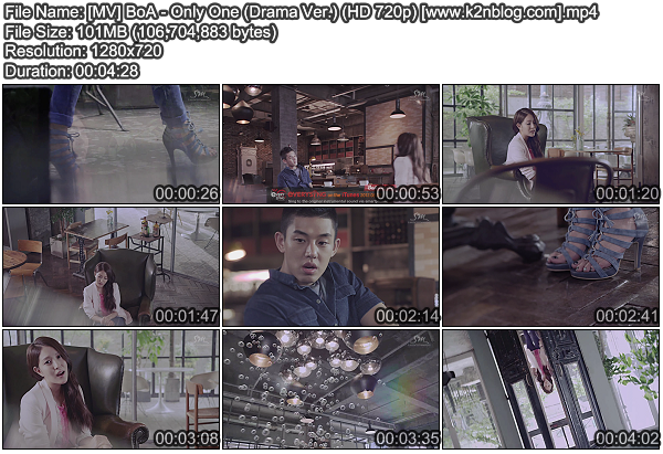 [MV] BoA - Only One (Drama Ver.) [HD 720p]