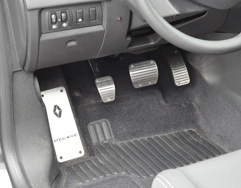 Details about poggiapiede renault megane iii rs cup tce dci sport