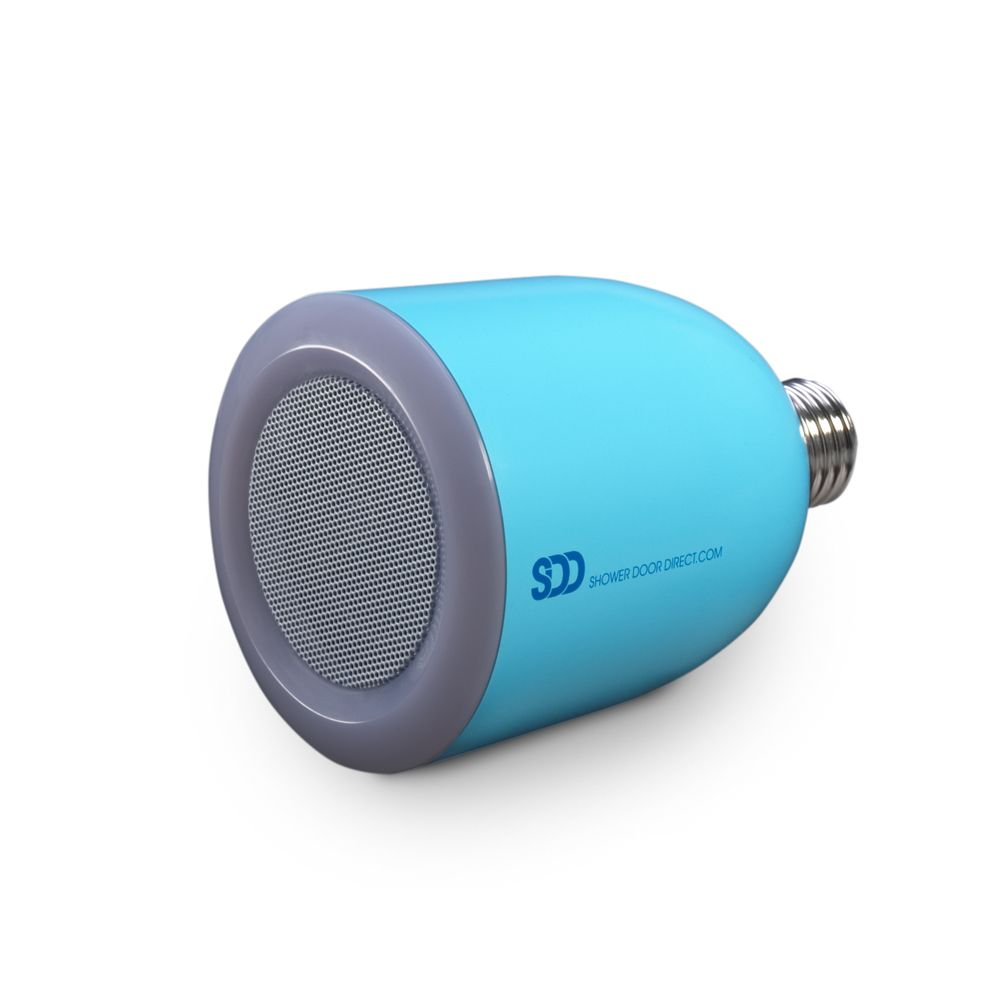 Bulbtunes led light bulb with bluetooth speaker blue for Led light bulb with built in bluetooth speaker