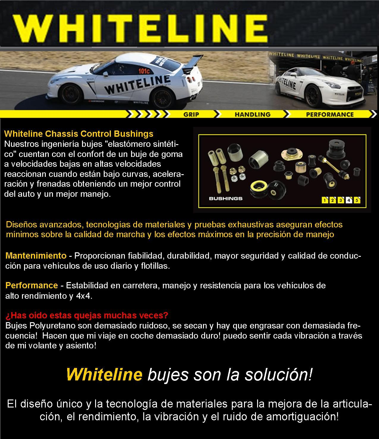 WHITELINE BUJES DEPORTIVOS BUSHING