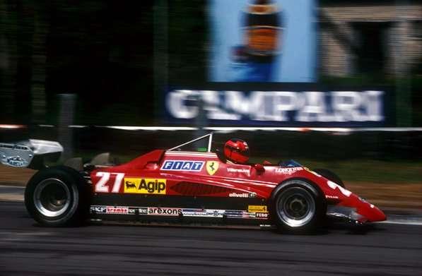 Gilles Villeneuve, Ferrari 126C, Belgian Grand Prix, Zolder, Belgium, 9 May 1982