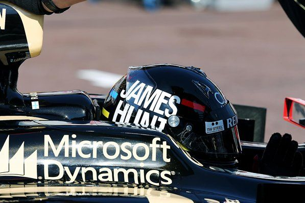 Kimi Raikkonen (FIN) Lotus E20 with James Hunt helmet. Formula One World Championship, Rd6, Monaco Grand Prix, Practice Day, Monte-Carlo, Monaco, Thursday, 24 May 2012 © Sutton Images.