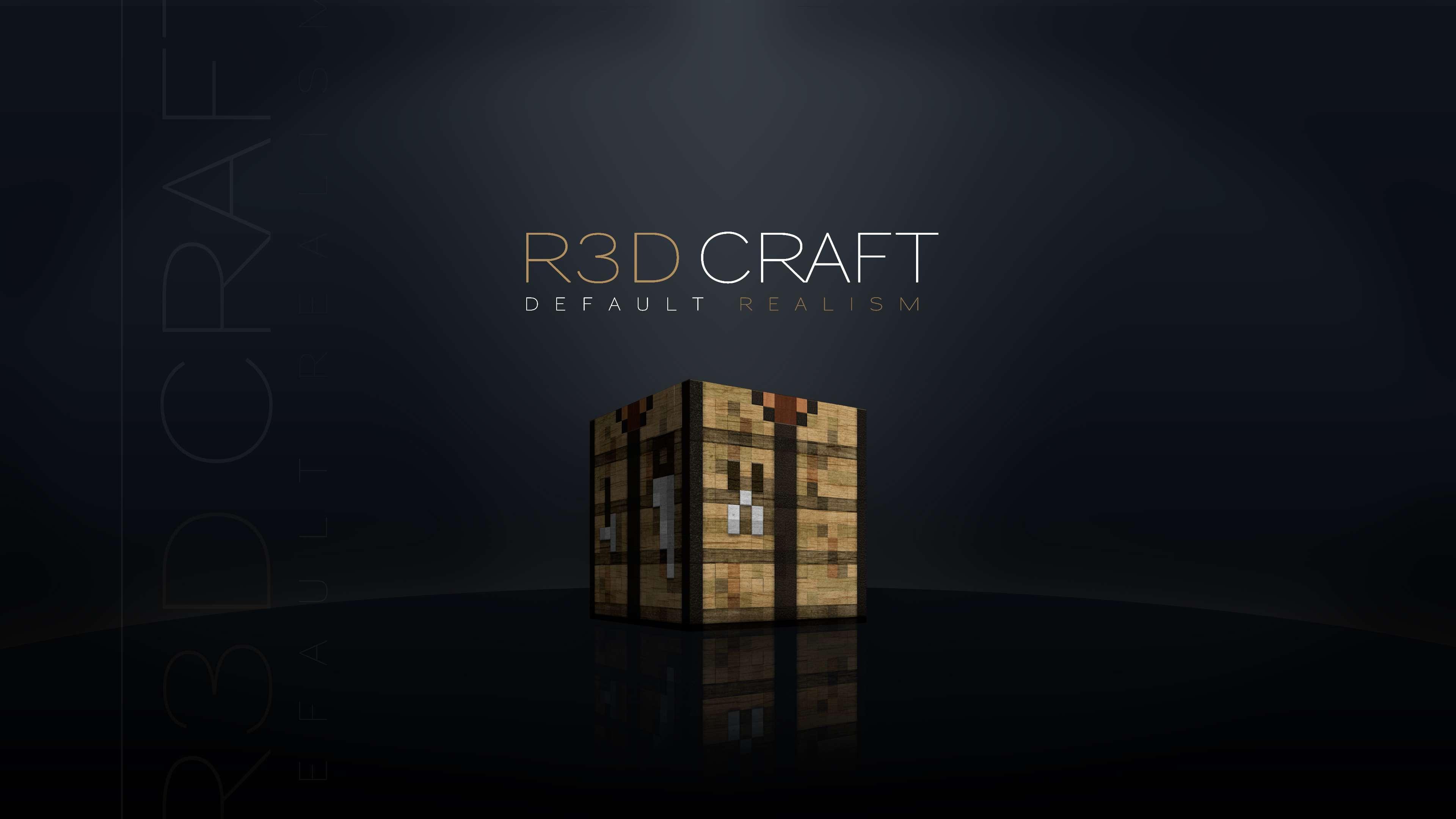 k891 R3D.CRAFT Resource Pack 1.8/1.7.10/1.7.2/1.6.4