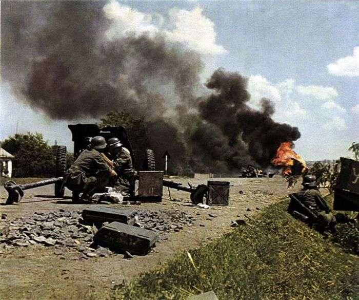 El Ejército Alemán en Color (III)