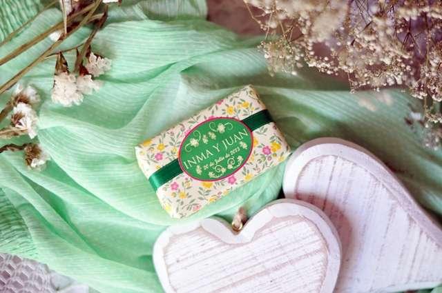 jabones personalizados boda