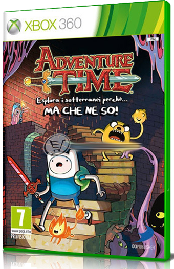 [XBOX360] Adventure Time: Explore the Dungeon Because I Don't Know! - SUB ITA