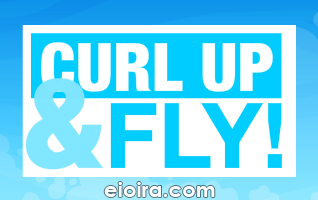 Curl Up and Fly Logo