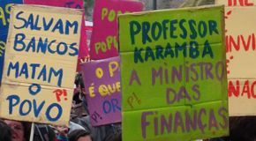 Anti-Austerity Protests in Portugal