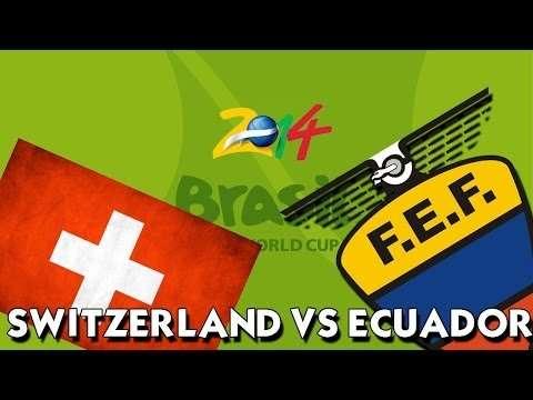 switzerland vs ecuador, poster switzerland vs ecuador, result match switzerland vs ecuador 16 jun 2014