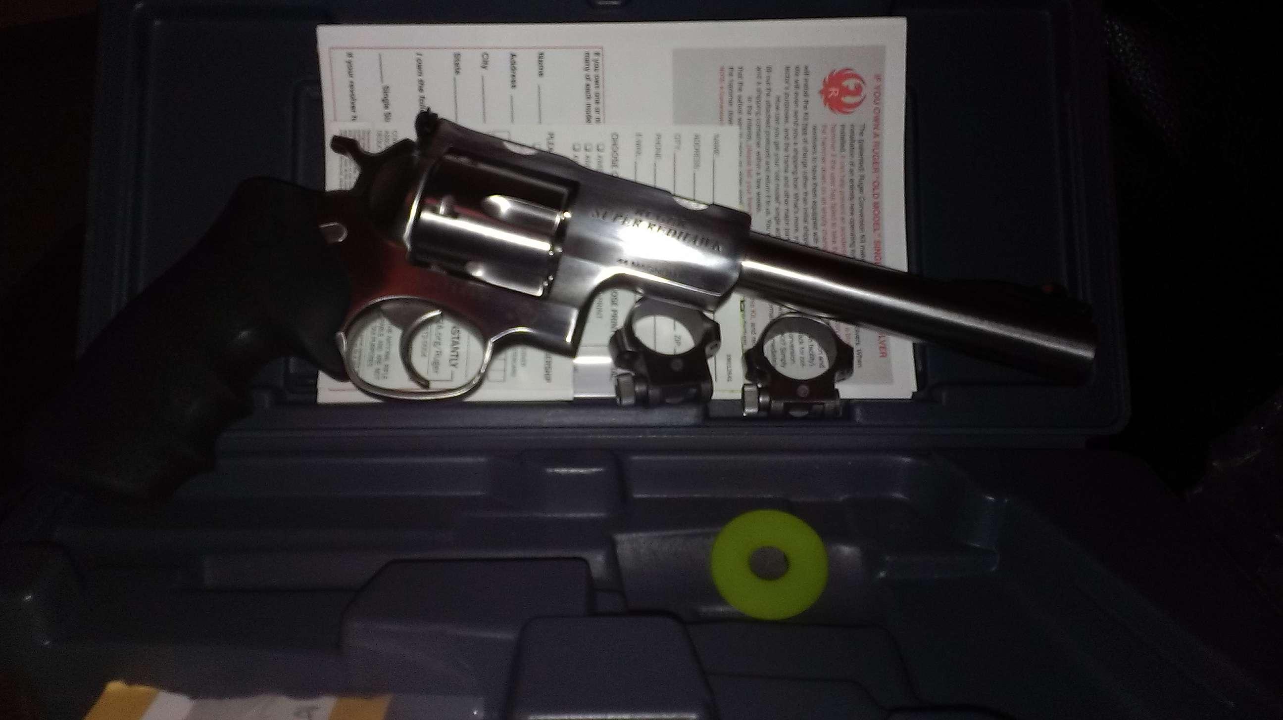 Ruger Super Redhawk - Revolver Handguns