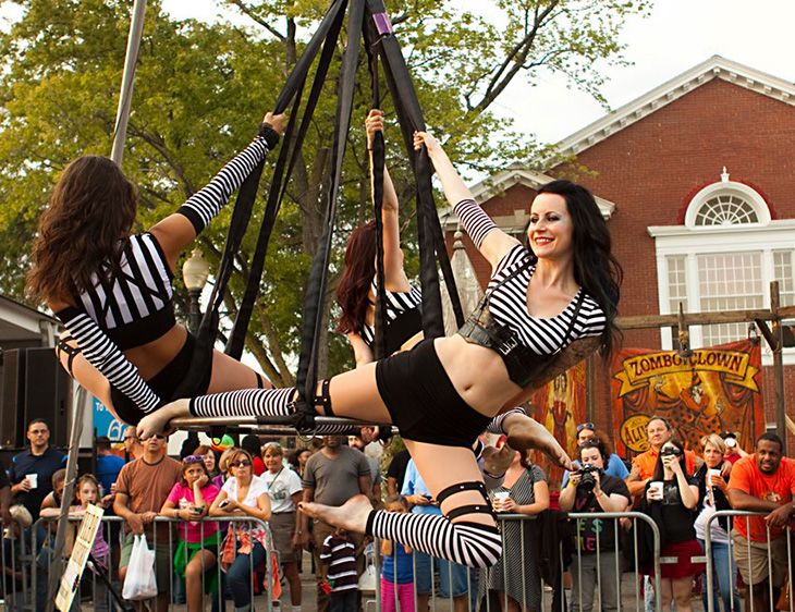 Rad Gal, Rad Gig - Aerial Performer - The Clueless Girl's Guide