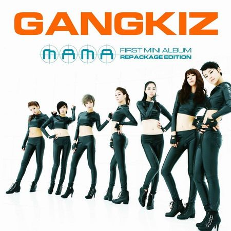 [Mini Album] Gangkiz - MAMA (Repackage Edition)