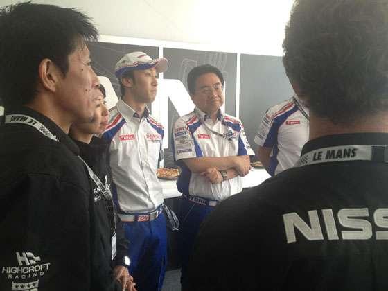 Kazuki Nakajima e equipe Toyota pedem desculpas à Nissan por provocar o acidente do DeltaWing