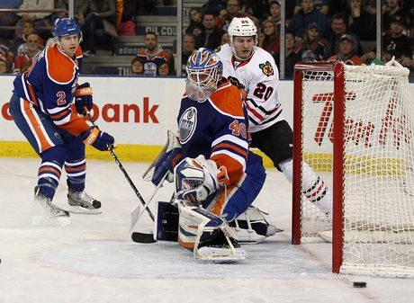 rsz game46petry Edmonton Oilers player grades    Blackhawks face little resistance in stroll to Presidents Trophy