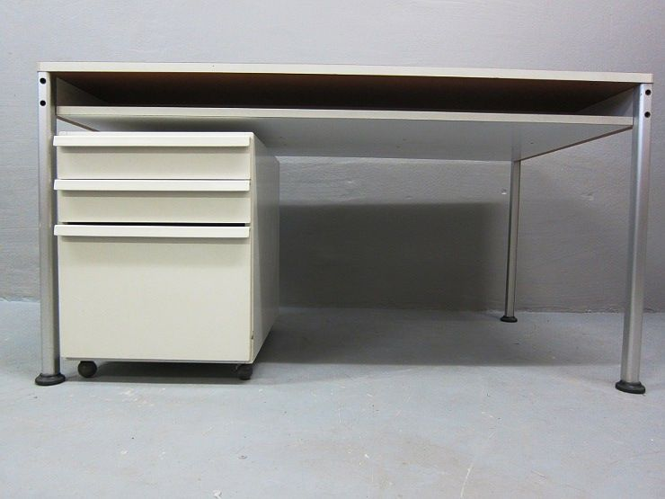dieter rams sdr doppelplatten schreibtisch 570 container corpus 710 ebay. Black Bedroom Furniture Sets. Home Design Ideas