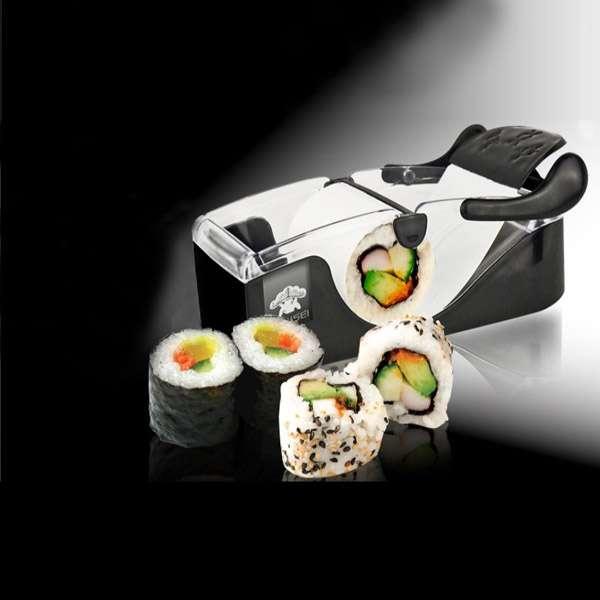 japanese sushi rice maker roll roller rolling machine. Black Bedroom Furniture Sets. Home Design Ideas
