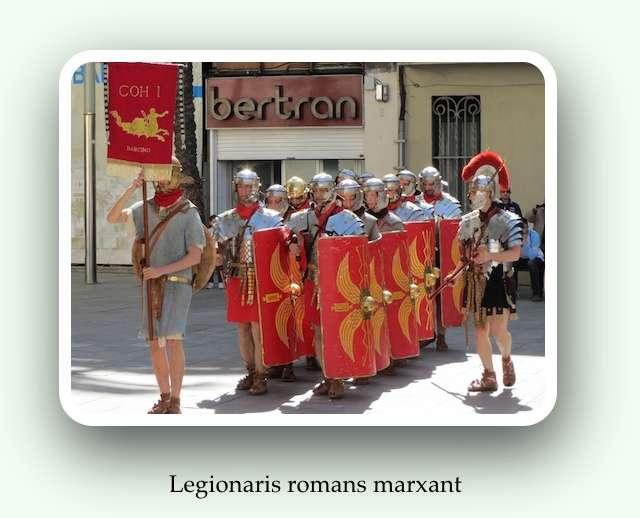 Legionaris marxant