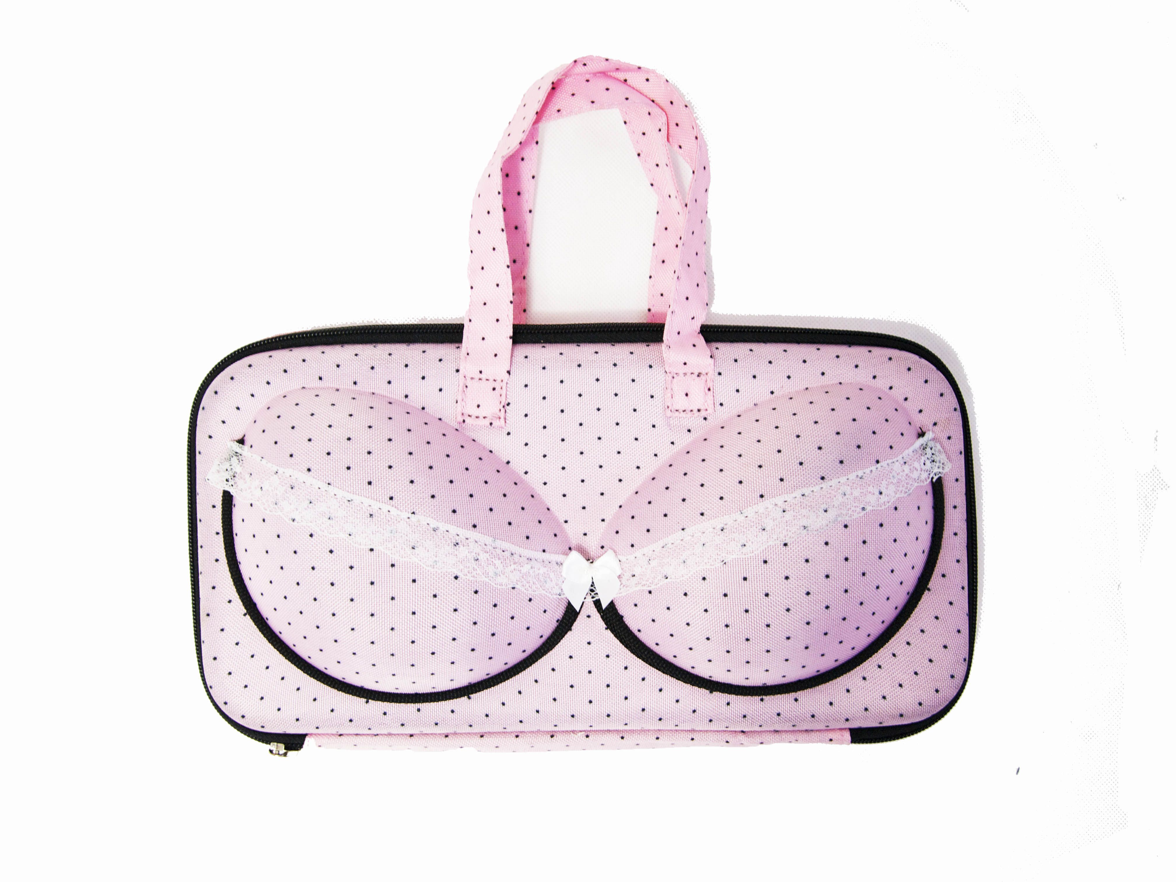 My Bra Bag Small Pink Dot