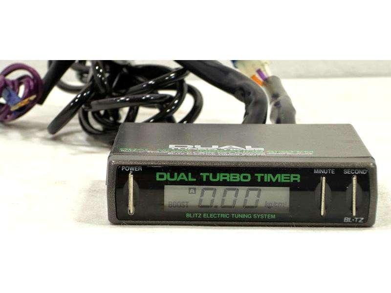 BLITZ DTT Dual turbo timer+Digital boost gauge RX7 Supra GC8 BG5