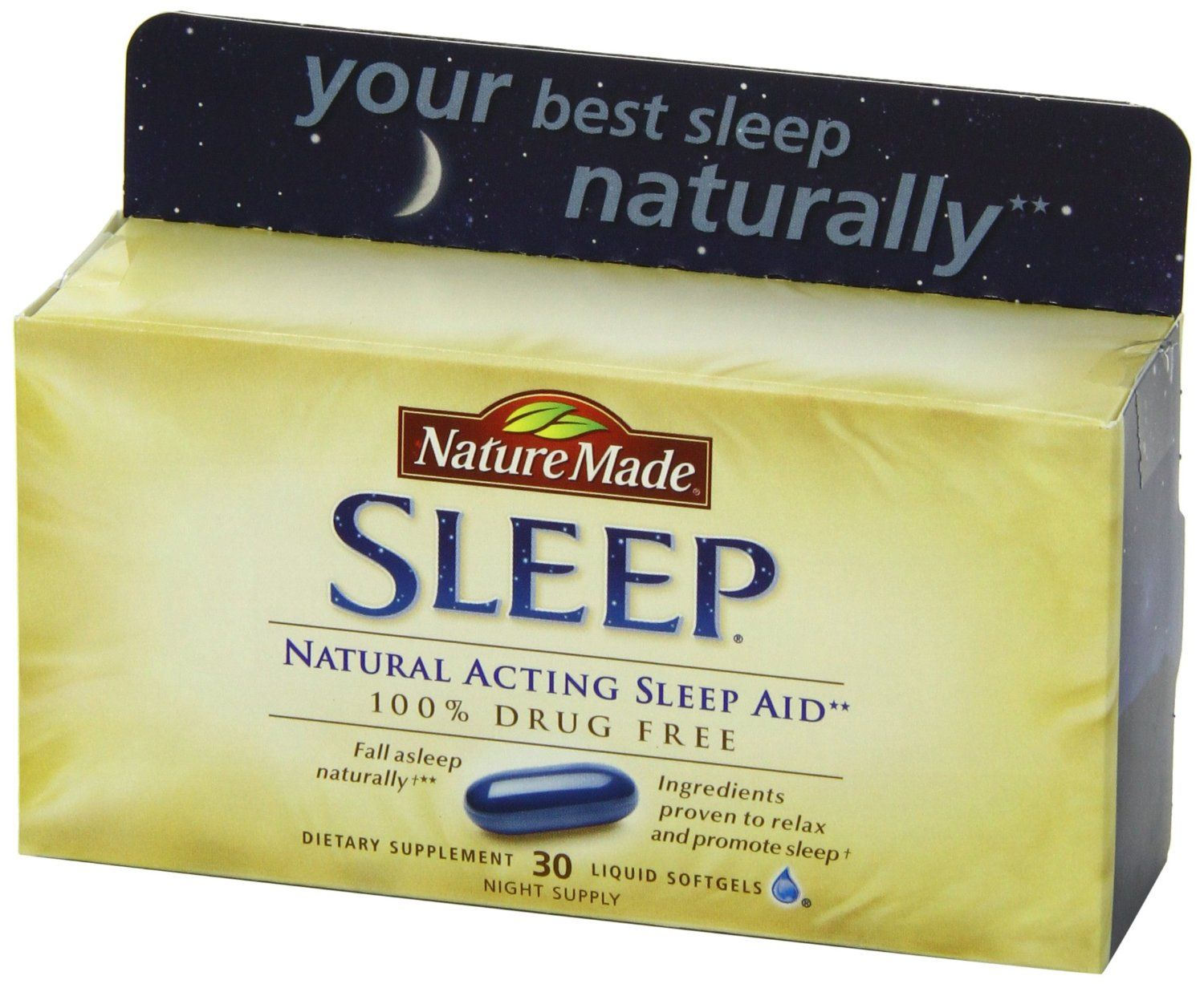 Nature Made Sleep - All Natural Sleep Aid Drug-Free (NMSA)