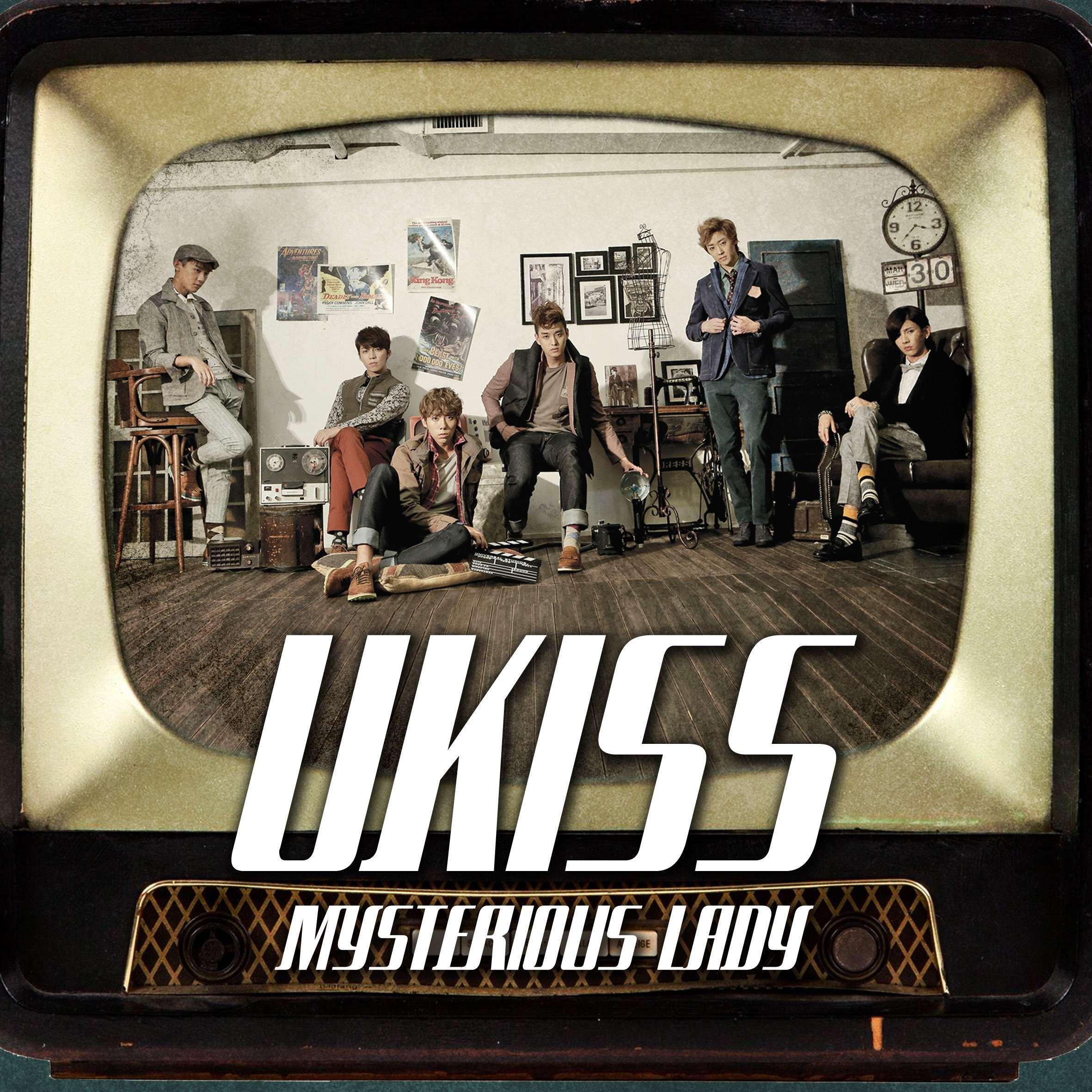 [Single] U-Kiss - Mysterious Lady [Digital Single]