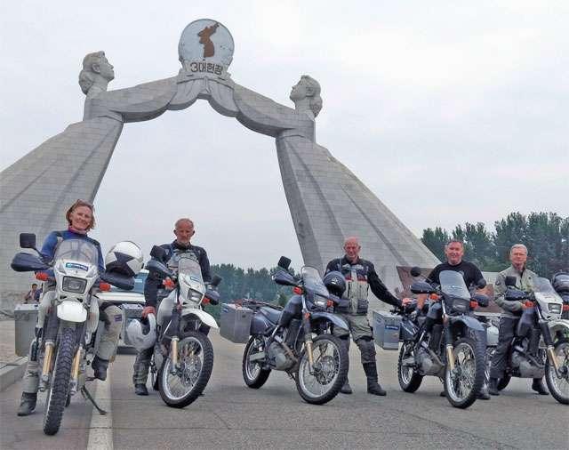 North Korean Motorcycle Diaries