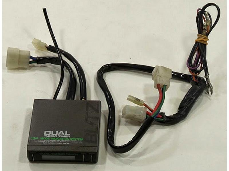 BLITZ DTT Dual turbo timer + Digital boost gauge FC3S EP91 AE86