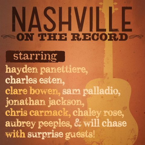 Nashville Cast - Nashville: On the Record (Live) (iTunes) (2014)