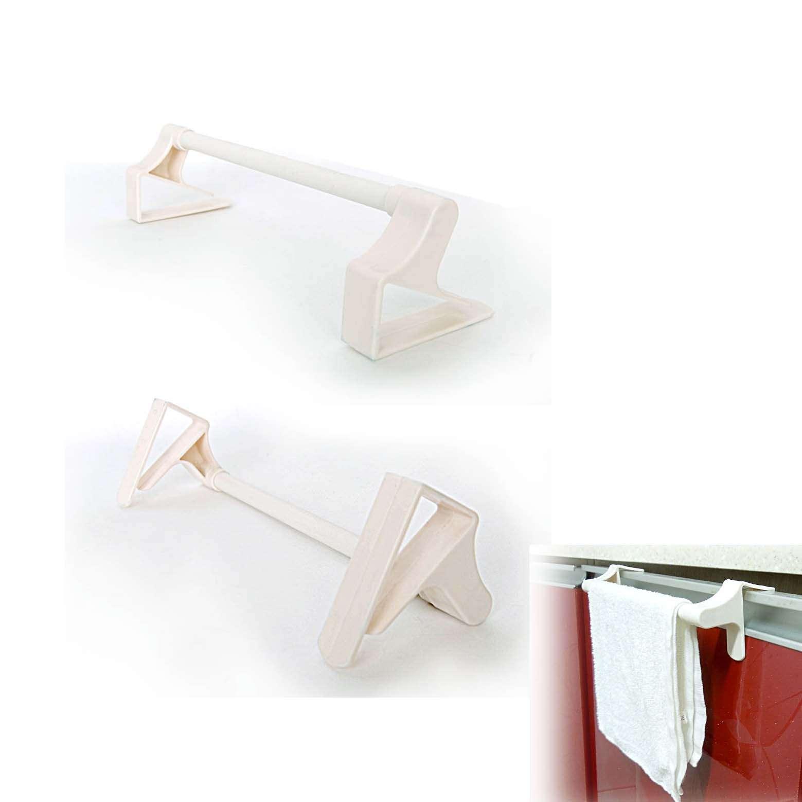 Dish Towel Stuck In Garbage Disposal: New Kitchen Towel Hook Bar For Under Sink Cabinet Doors